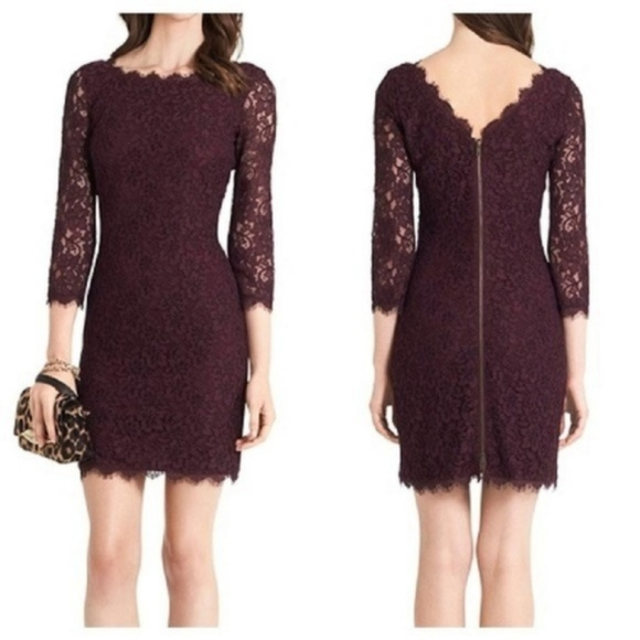 Diane Von Furstenberg Dresses & Skirts - Diane Von Furstenberg Zarita lace sheath dress
